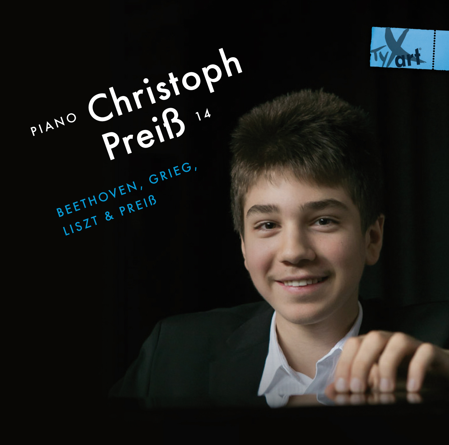 Christoph Preiss, 14, Piano: Beethoven, Grieg, Liszt and Preiss