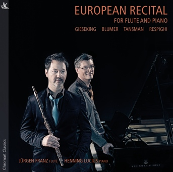 European Recital for Flute and Piano - Franz und Lucius
