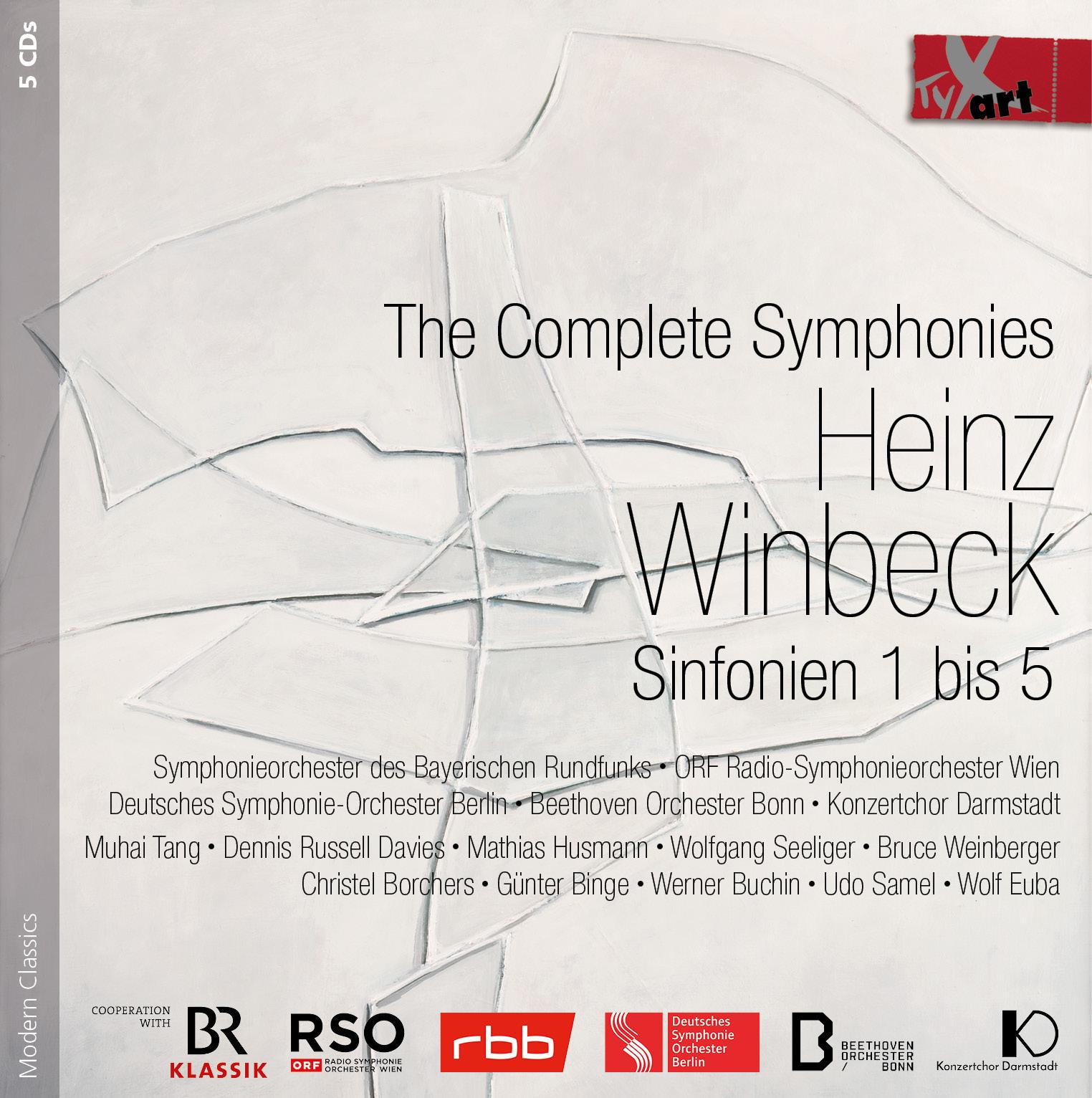 Heinz Winbeck - Sämtliche Sinfonien (1-5)