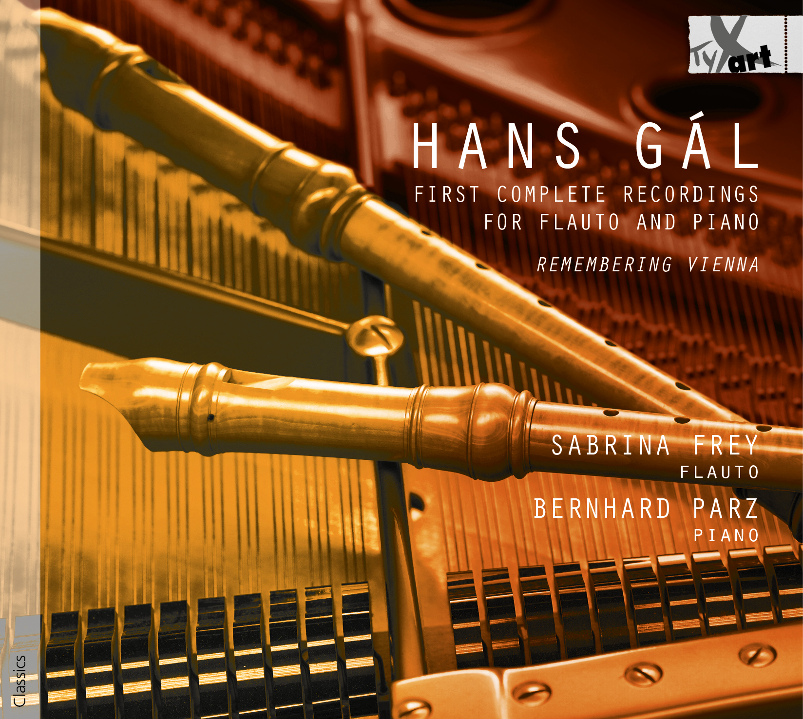 Hans Gál - First complete Recordings for Flauto and Piano - Frey & Parz